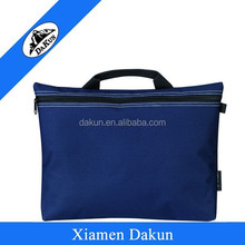 600D Polyester men's punching business book messenger conference bag