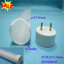 T8 pc cover led tube with UL94-V2
