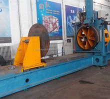 Wedged wire screen mesh wrapped welding machine