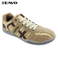 SEAVO SS17 cool pu suede elegant high top brand class mens yellow casual shoes