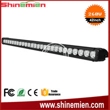 IP67 Super Bright 260W Single Row LED Light Bar,42 inch automotive led lighting accessory single row led bar