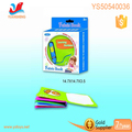 Education soft book can drawing baby colorful fabric books with water pen safe learning book