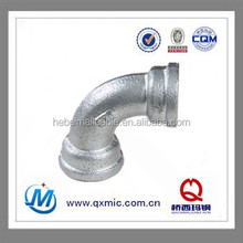 Shijiazhuang galvanized malleable iron pipe fitting bends 90