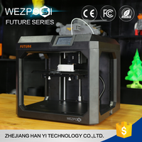 Best price factory manufacturing Fused Deposition Modeling portable 3d printer machine