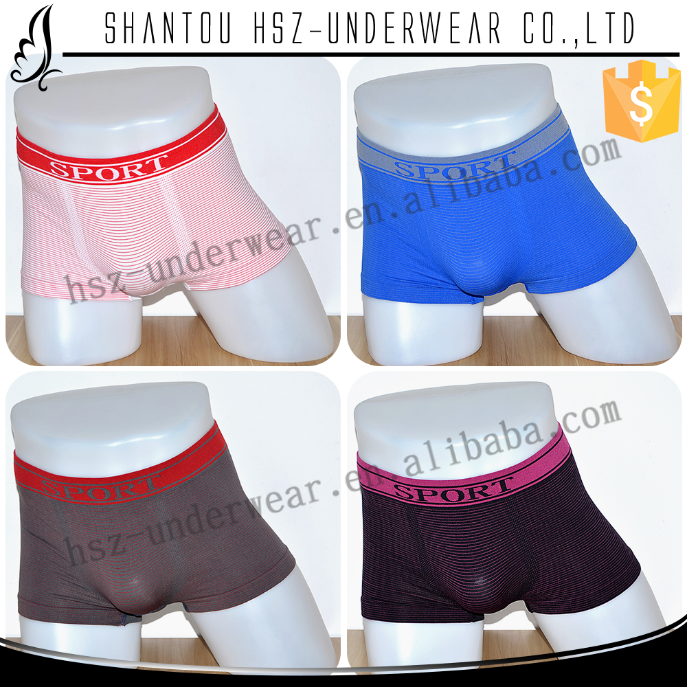 HSZ-SL0019 Hot sale sheer nylon mens underwear High quality sexy mens jockey underwear Fitted mens guys in boxers