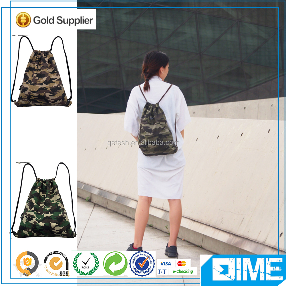 Fashion Men&Women Foldable Custom Cotton Drawstring Bag