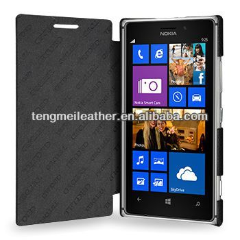 Handmade Genuine Leather Case For Nokia Lumia 925,Lumia 925 Leather Case,Lumia Case
