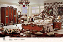 italy leather king size bedroom set red bedroom sets american style furniture