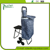 Supermarket Shopping Cart Bag With Side Heatproof Pockets And Seat