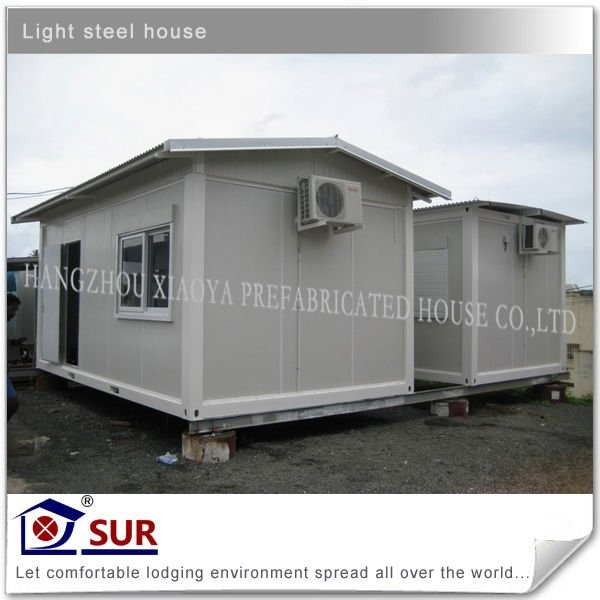 living 20ft container house price in china/offshore container price