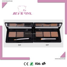 Eyebrow powder 3 colors palette for eyebrow beauty cosmetic