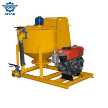 XM400D price of foundation grouting portable diesel cement mixer