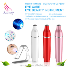 2015 new design personal relax your eye and mind ionic eye mini massager for men