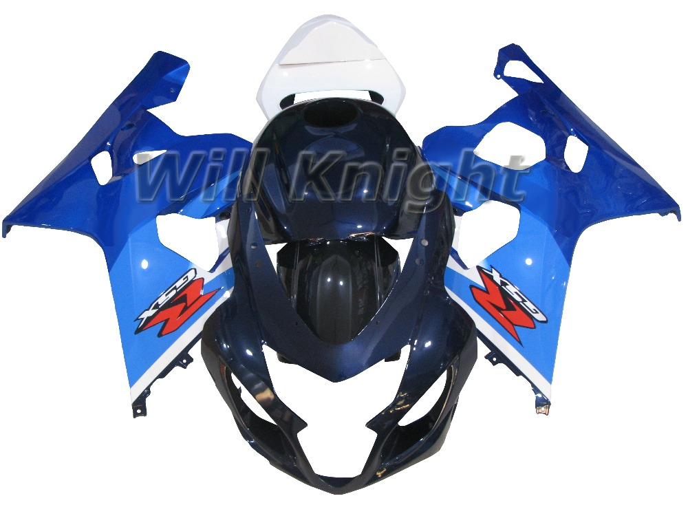 ABS Fairing For Suzuki GSXR 600/750 K4 2004 2005 GSXR-600 Plastic Bodywork Kit Set Fit GSX R600 GSX R750 Blue