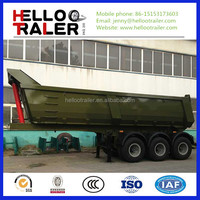 Sand Coal Dump Semi Truck Trailers