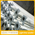 6M 7M 8M 10M 12M LED street light pole Q235 steel galvanizing treatment