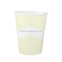 Logo printed cheap disposable cow drinking paper cup