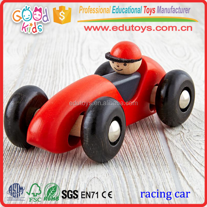 2017 New Wood Model Toy Car, Hot Selling Small Toy Car for Kids