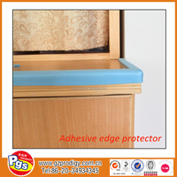sharp edge protection/rubber edge banding for furniture