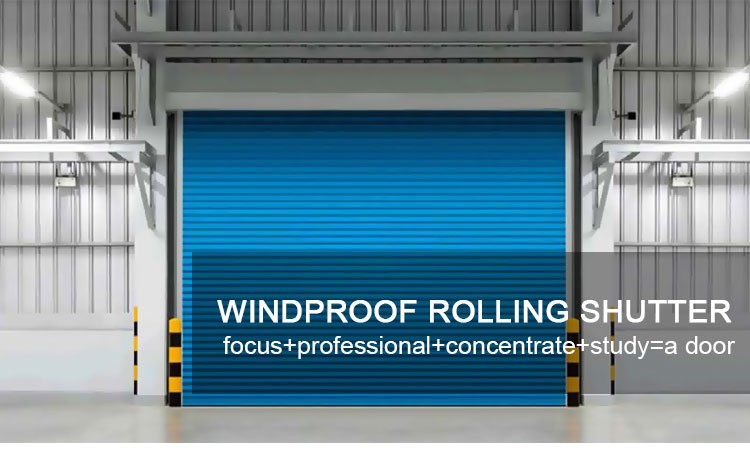 Windproof Automatically Open Rolling Door Suppliers