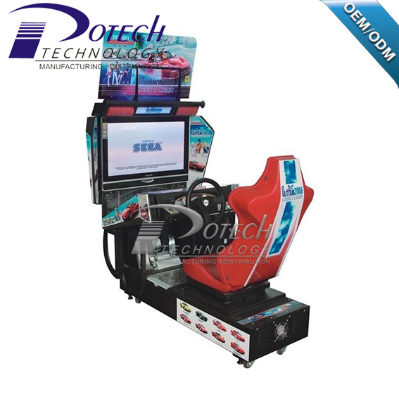 Outrun car racing simulator arcade game machines