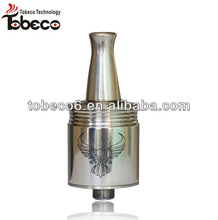 tobeco hot sell turtle ship mod E Cigarette hero atomizer Patriot rba Atomizer