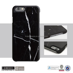 Customized OEM Fashion Design PC Marble Stone Material custom printed phone case for iPhone 6 6s