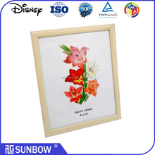 pine wood MDF Material and Mirror Frame Type picture frame