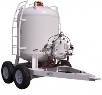 Protable manual sandblaster pot/ sandblasting tank