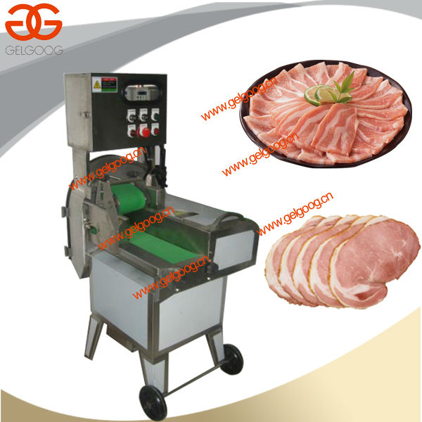 Double Frequency Pig Ear Slicer Machine|High Efficiency Fresh Meat Slicing Machine|Hot Sale Cooked Beef Slicing Machine