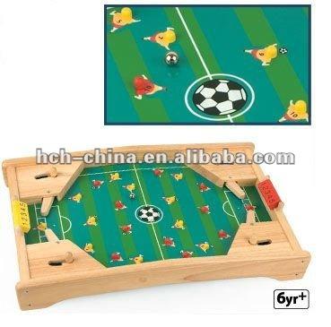 Pinball jogo de futebol de mesa de madeira dimens o for Pinball de mesa