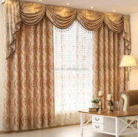 Cheap hotel 100%polyester arabic curtain design in 2013