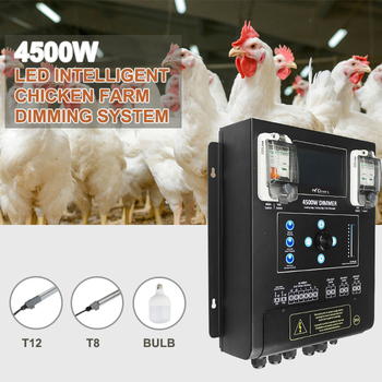Automatic light dimmer smart poultry dimmer/ led poultry controller