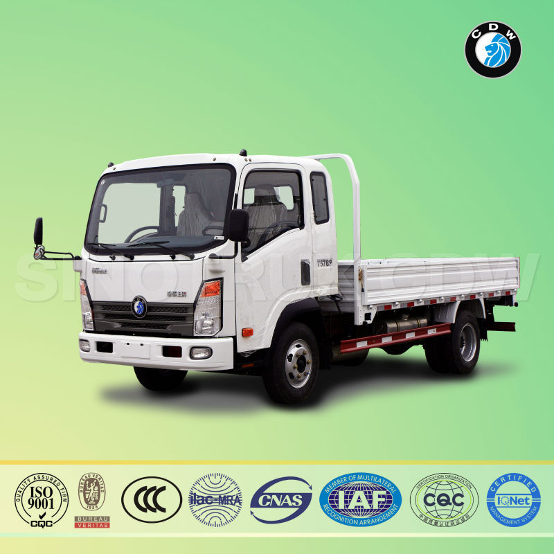Sinotruk CDW china hot sale Euro diesel 8t cargo truck truck dimensions