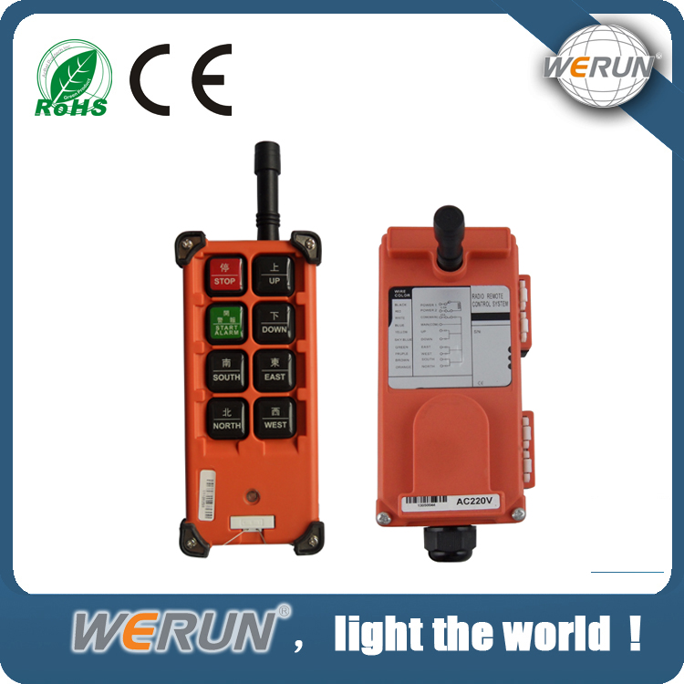 Factory supply WR21-E1B 8 buttons crane wireless nobel tv remote control