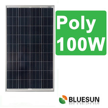 Tempered glass 100w poly solar panels in pakistan karachi