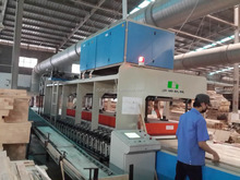 HF conveyor edge gluer for door production line with good quality