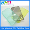 UltraThin Case Soft TPU Back Cover For Apple iPhone 6 TPU Case