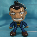 Custom ultimate survivor gambling apocalypse kaiji plastic keyring, cheap 3d figure keychain