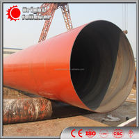 SSAW spiral carbon steel tube/pipe conveying natural gas, petroleum