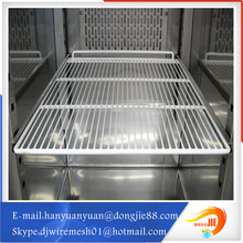 white PE coated metal refrigerator shelf Best selling product