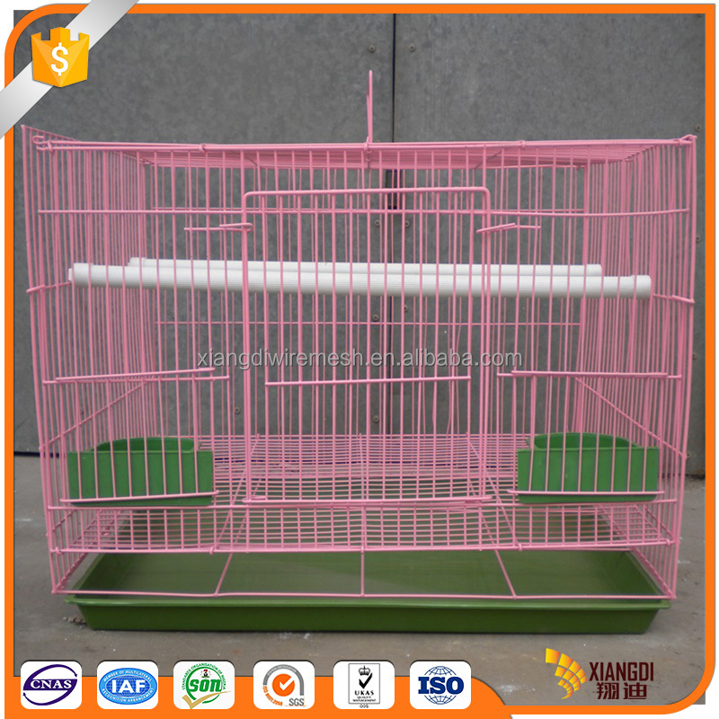 High quality customize colorful foldable handiness aviary bird cage