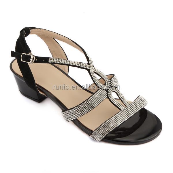 2016 handmade shoes low platform wedge heel