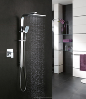 2015 New Fashion Wall Mounted Bathroom Rain Shower Set