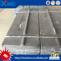 impact crusher spare parts blow bars for mining