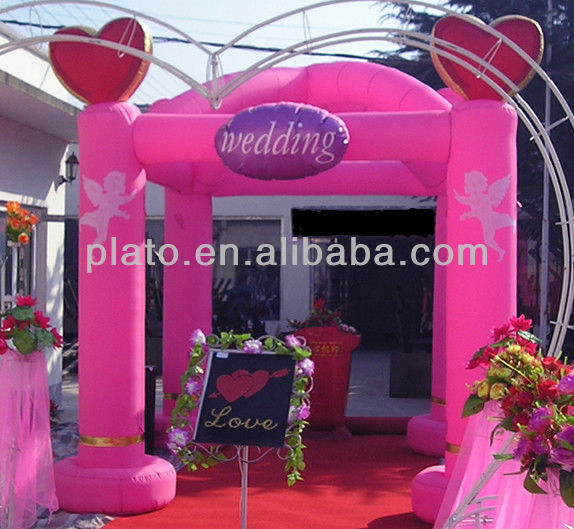 New! Attractive inflatable wedding arches