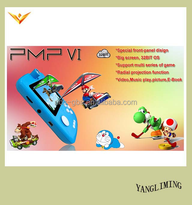 3.0'' Handheld Video Console Game Player System Support GBA/SEGA Games format for PMP-VI