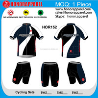 New coming sublimation printing Italian Ink custom HOR152 cycling wear