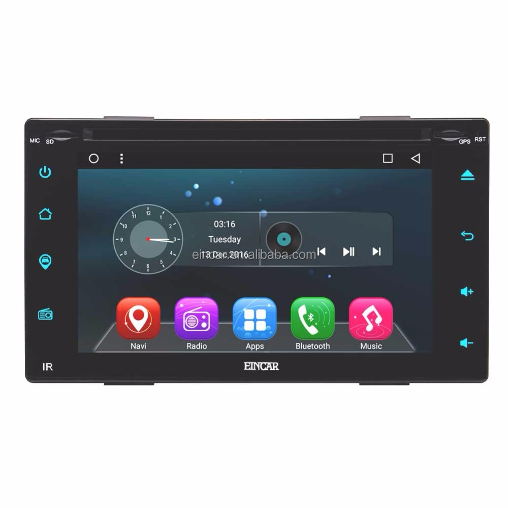 Eincar Android 6.0 Quad Core Car Auto Radio Stereo DVD CD Player with 6.2 inch HD Touch Screen Double 2 Din In Dash Head Unit