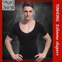 Mens sport T shirt/athlete tight quick dry breathable T shirt
